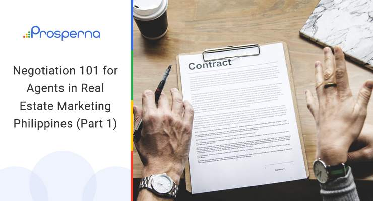 Negotiation 101 for Agents in Real Estate Marketing Philippines (Part 1)