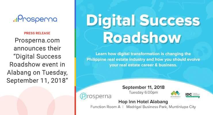 Digital Success Roadshow event in Alabang