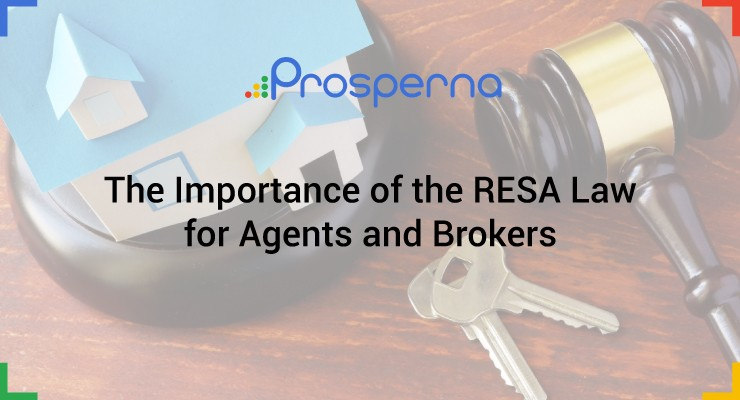 The Importance of the RESA Law for Agents and Brokers